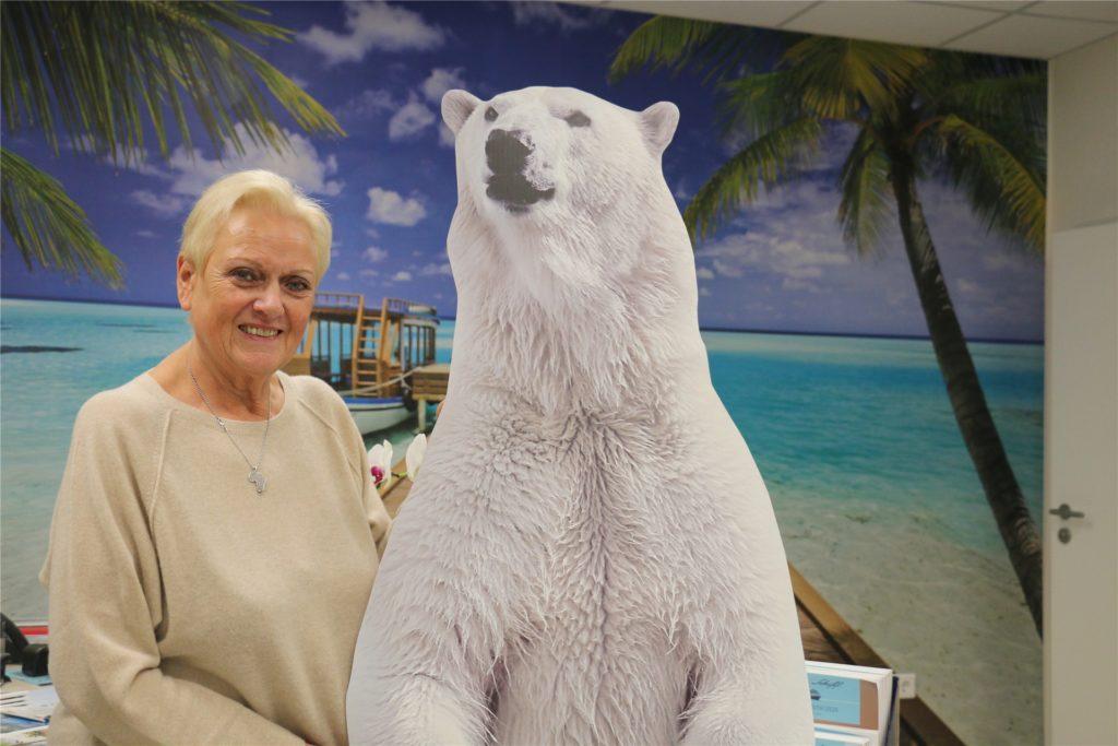Heidrun Wagner-Peters leitet seit rund 50 Jahren das Reisebüro Wagner.