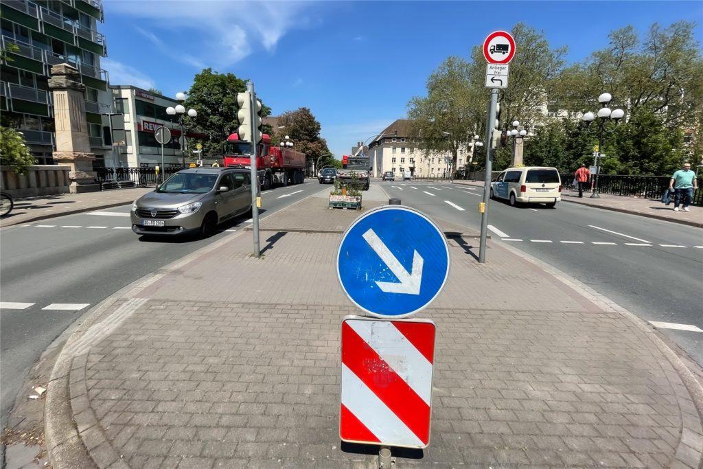 Die Stadtplaner wollen nur noch eine durchgängige Fahrspur für beide Richtungen.