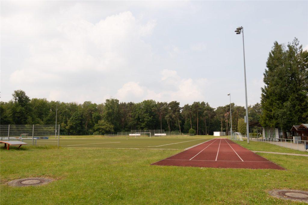 Das Gelände des VfL Grafenwald soll Stück für Stück attraktiver gestaltet werden.