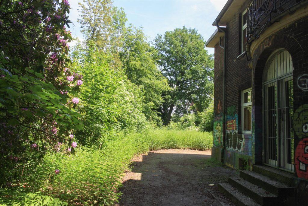 Die traumhafte Lage des Anwesens ist ausschlaggebend für das hohe Interesse an der Villa Körner in Kirchhellen.