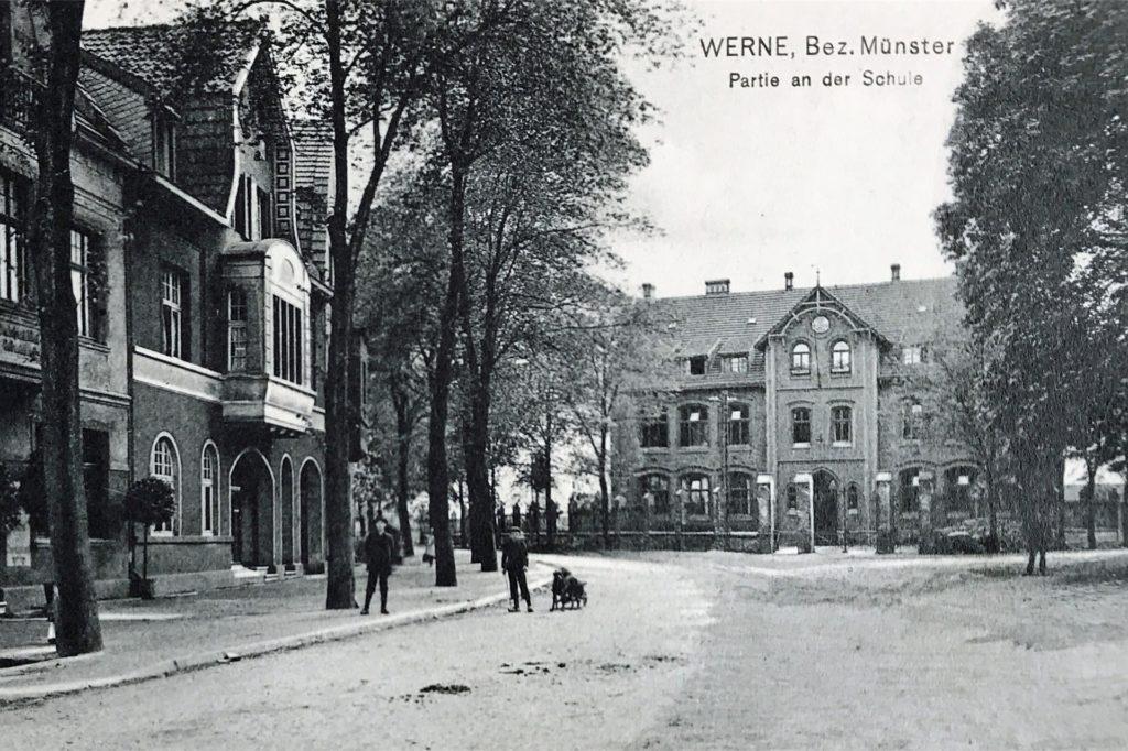 So sah die Steintorschule früher einmal aus.