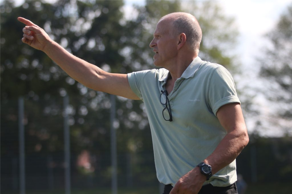 Jupp Ovelhey übernimmt in der neuen Saison die Sportfreunde Merfeld.