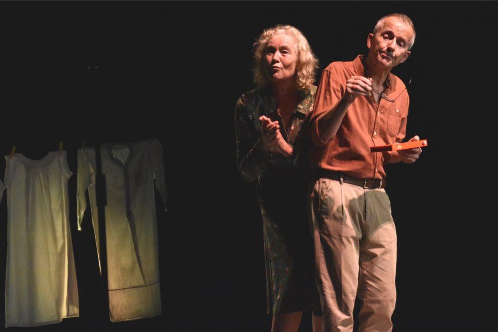Gilla Cremer und Rolf Claussen in der Romanadaption