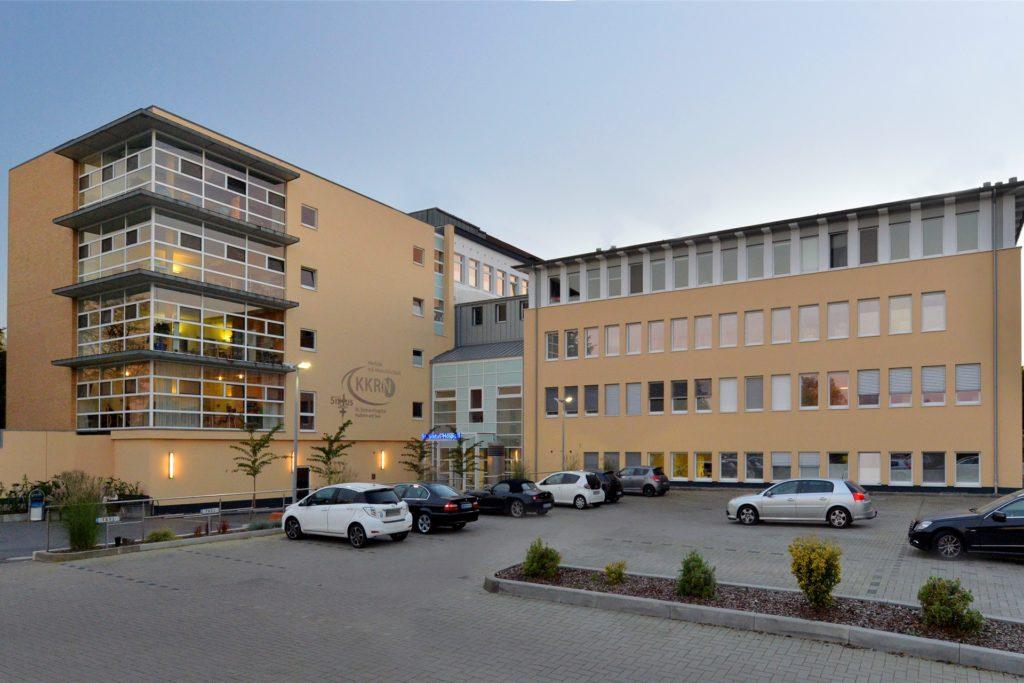 Das Sixtus-Hospital in Haltern gehört zum KKRN-Klinikverbund.