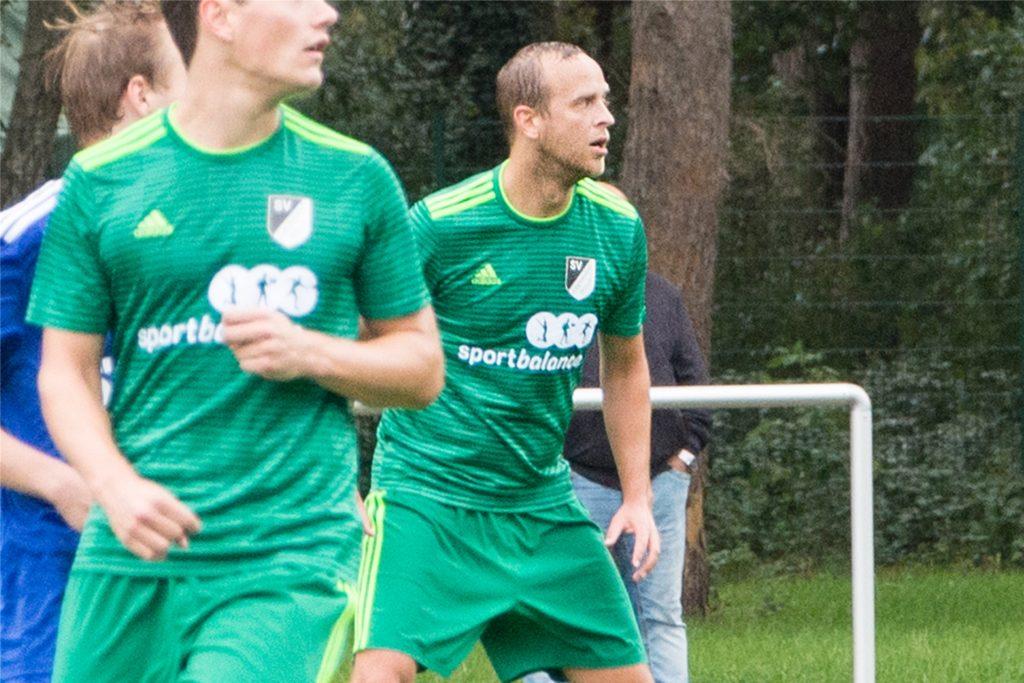 Jan van Buer war schon einmal Co-Trainer - damals aber nicht beim LSV, sondern beim TuS Sythen.