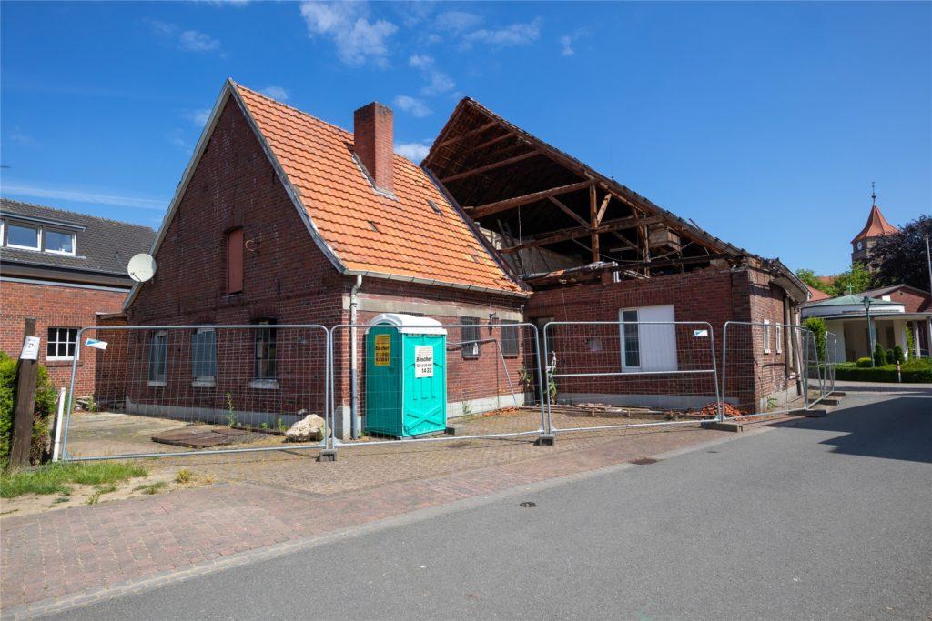 Auf dem Grundstück an der Mühlenstraße wird ein Mehrfamilienhaus entstehen.