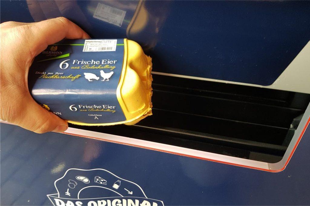 In der Regio-Box gibt es natürlich auch die Eier vom Geflügelhof Biermann zu kaufen.