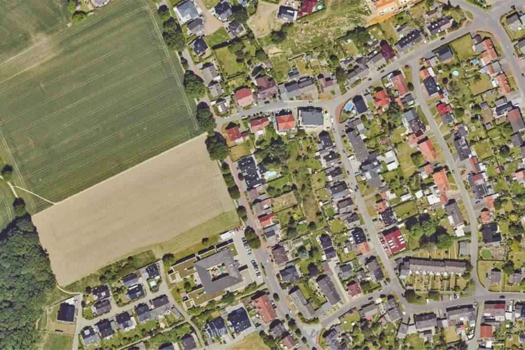 Um dieses Wohngebiet geht es: Hier installiert die Stadt ein Quartiersmanagement, um ein gemeinsam getragenes Verständnis von Bauen und Zusammenleben vor Ort zu erreichen.