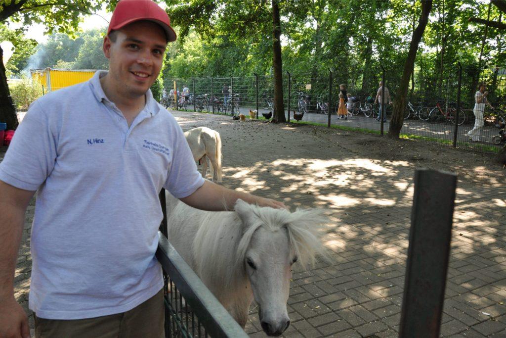 Noel Hinz, hier ein Archivfoto, ist Vorsitzender des Tierschutzvereins Dorsten und die Herrlichkeit Lembeck.