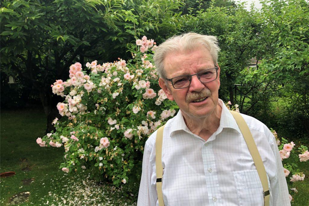 Der ehemalige SPD-Ratsvertreter Bruno Schreurs sagt, er sei nach einem Frankreich-Besuch zum großen Freund von Kreisverkehren geworden.