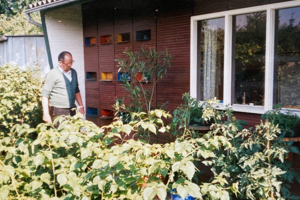 Schon Großvater Erich Günnewig hatten es die Bienen angetan, die er Jahrzehnte auf seinem Grundstück hielt.