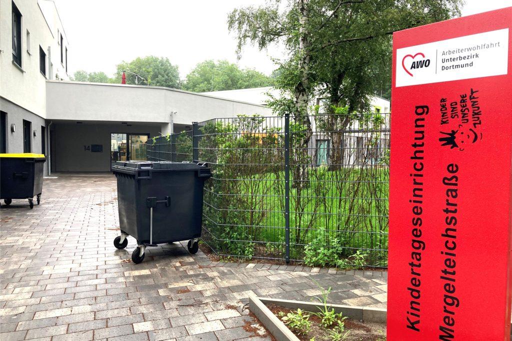 Die neue Kindertagesstätte der Arbeiterwohlfahrt an der Mergelteichstraße ist bereits eröffnet. Sie wird Teil des Generationenprojekts sein.