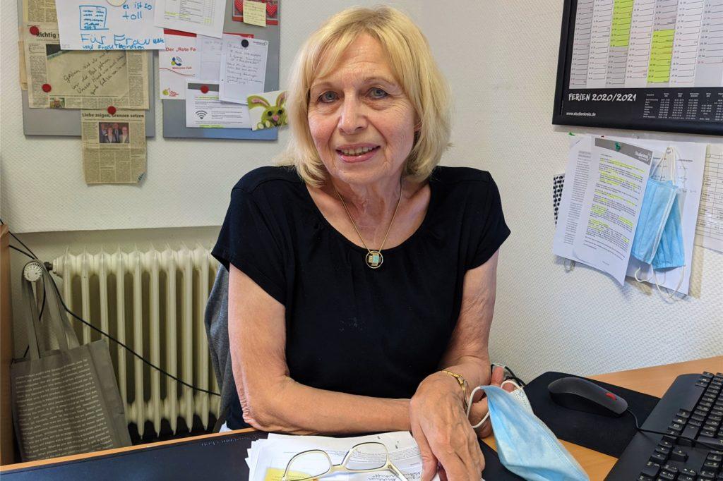 Christiane Rütter leitet den Studienkreis Dorsten.