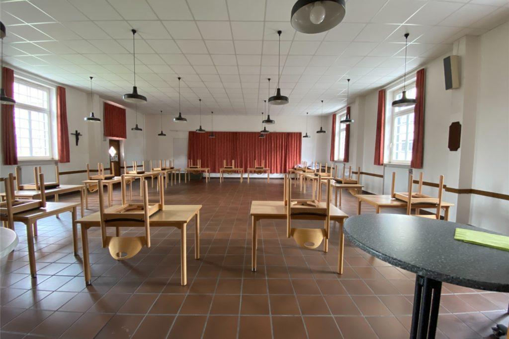 Der große Saal und die Gruppenräume, die teil von den Vereinen mitgestaltet wurden, bleiben erhalten.