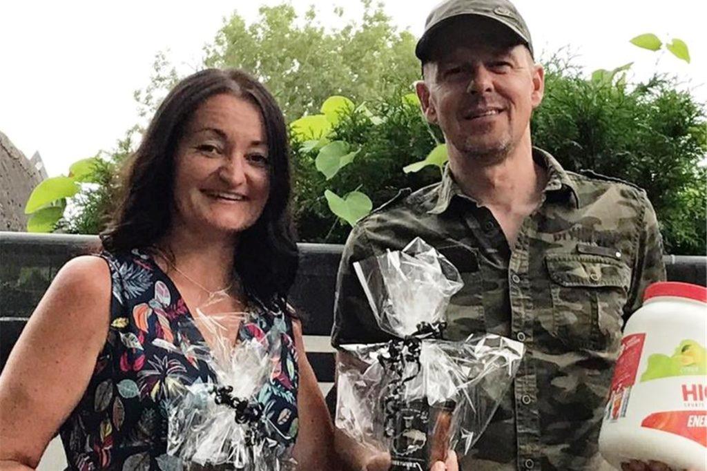 Marcus Dworak und Heidi Krampe gewannen die Halden-Challenge des RSC Dorsten.