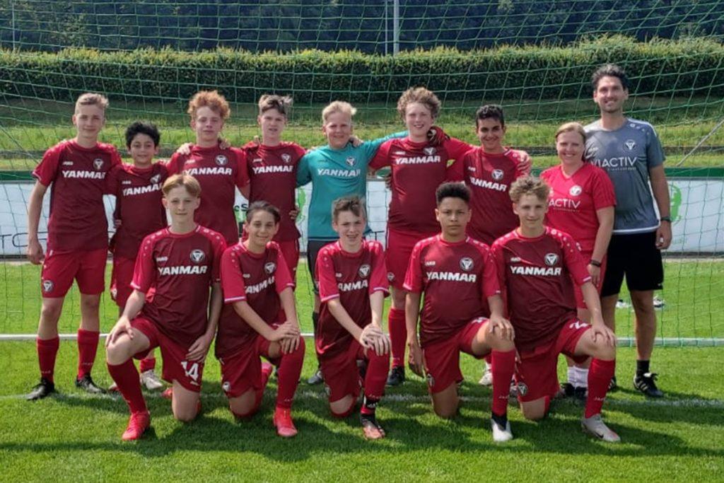 Jugendspieler des TuS Haltern am See waren zuletzt auf Einladung einer DFB-Stiftung in Malente.