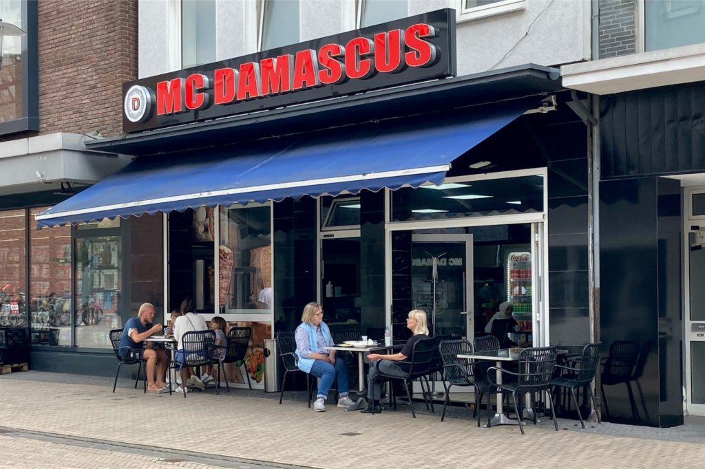 Mc Damascus liegt mitten in der Fußgängerzone an der Lippestraße 50 in Dorsten.