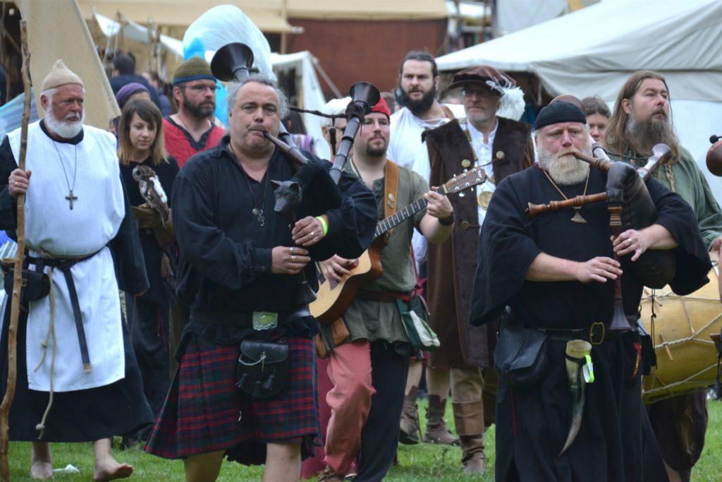 Vier Tage lang dauert in jedem Jahr der Trubel mit mittelalterlichem Leben und täglichen Festzügen.