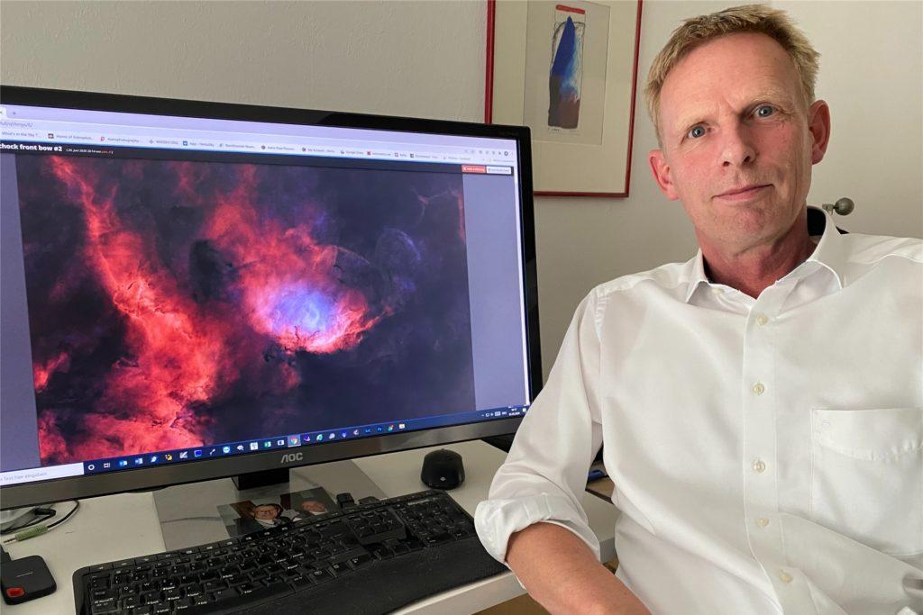 Ob Galaxien, Sternschnuppen oder leuchtende Gasnebel - der Hobby-Astronom Peter Maasewerd aus Ascheberg hat schon hunderte Astro-Fotos gemacht.