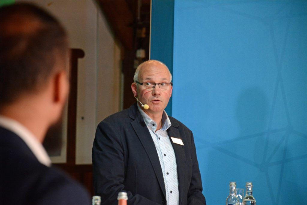 Bernhard Lammersmann tritt für die Grünen im Wahlkreis Borken II an.