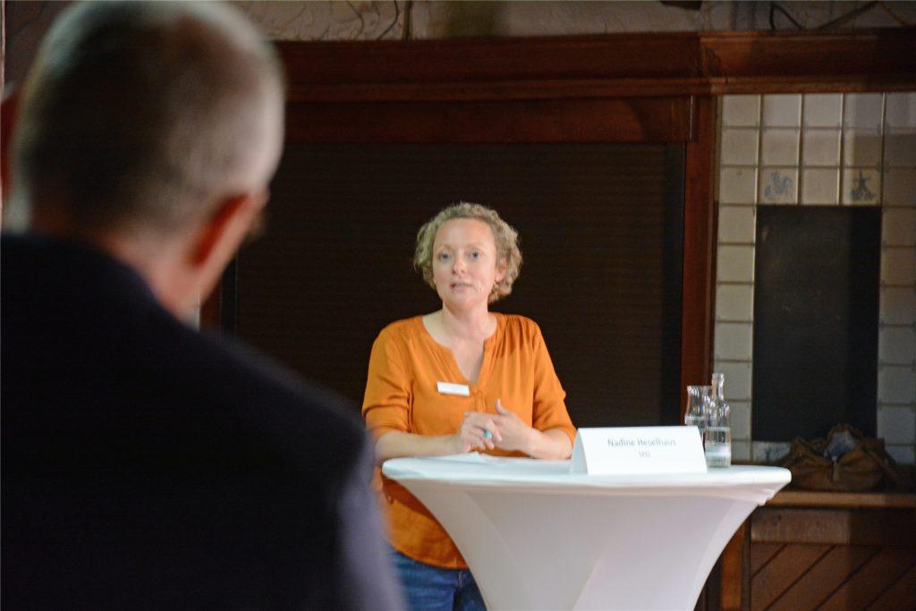 Nadine Heselhaus tritt bei der Bundestagswahl für die SPD an.