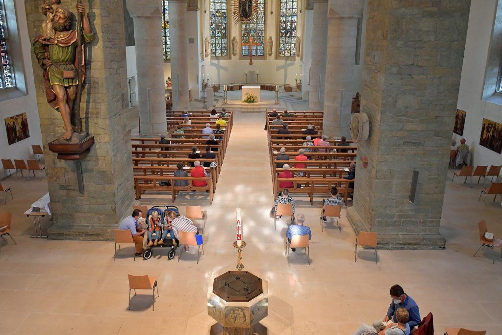 Nur wenige Zuhörer fanden Sonntagnachmittag den Weg in die Christophorus-Kirche.