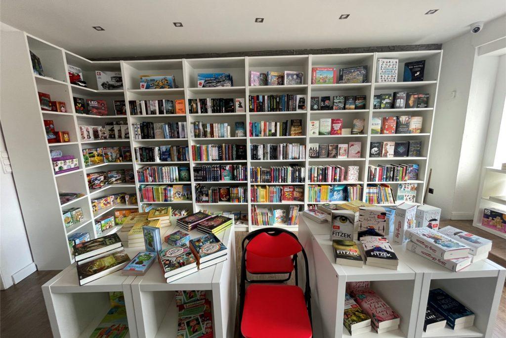 In ihrem Buchladen will Nicole Hoyme auch unbekannteren Verlagen einen Platz im Regal bieten.