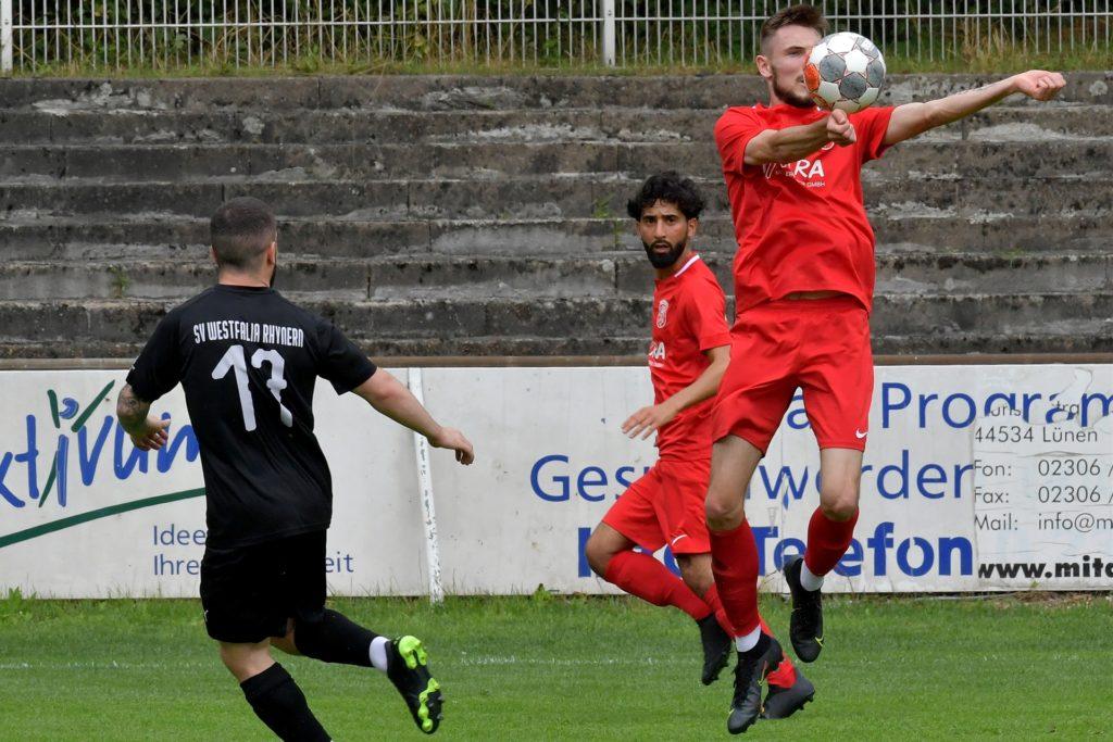 Nico Berghorst deutete bereits an, für den Lüner SV in eine wichtige Rolle schlüpfen zu können.