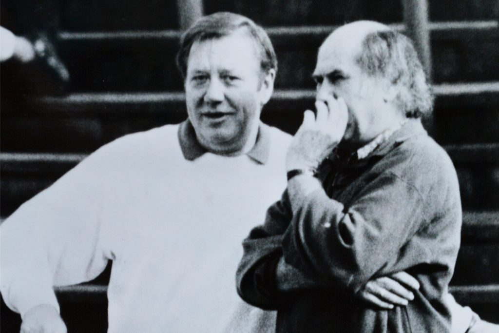 Berni Fasselt (l.) und Heinz Lochmann (r.).