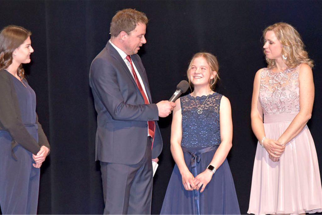 In Ahaus wurde Sophie Kleinpas zur Sportlerin des Jahres 2018 gewählt.