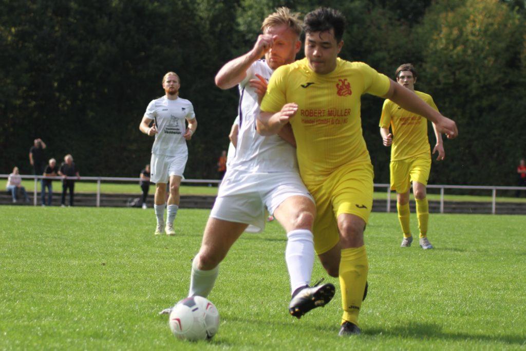 Daniel von der Ley (l.) erzielte bisher drei Saisontreffer.