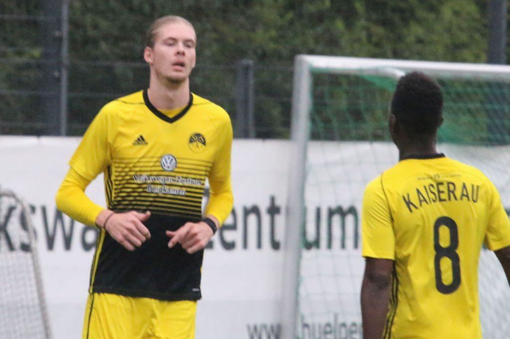 Kaiseraus Toptorjäger Marvin Schuster erzielte vier Treffer gegen die DJK Wattenscheid.